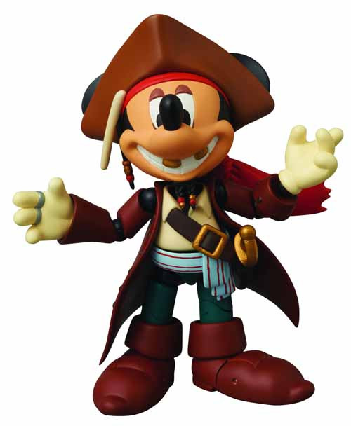 Mickey Mouse Miracle Action Figure Jack Sparrow Version -- NOV111625