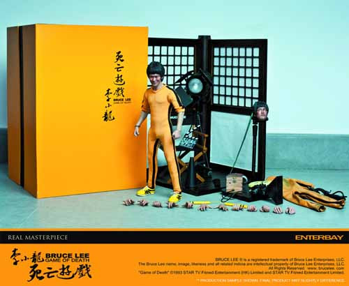 Game Of Death Bruce Lee Real Masterpiece -- Enterbay -- FEB131724