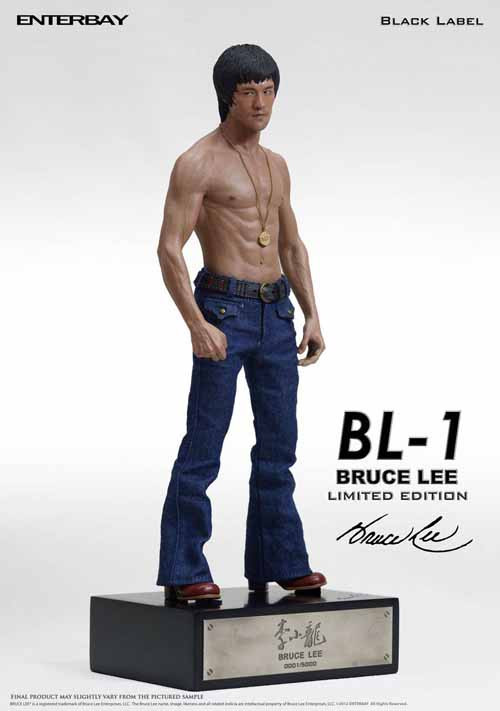Bruce Lee Black Label Statue -- Enterbay -- FEB131725