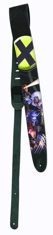 X-Men Leather Guitar Strap -- NOV111693