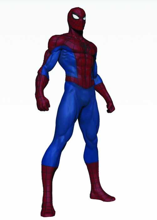 Spider-Man Statue--Avengers Bowen Designs -- NOV121808