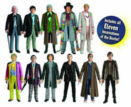 Doctor Who 11 Doctor Action Figure Collector Set -- NOV121846