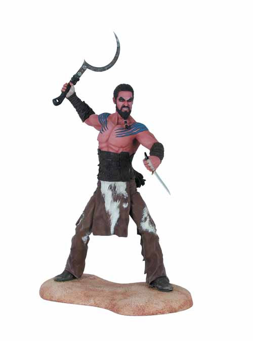 Game Of Thrones Khal Drogo Figure -- NOV130073