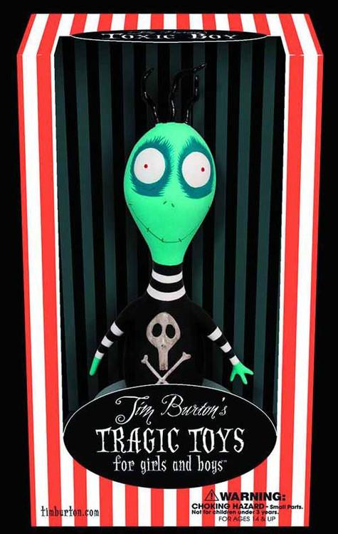 Tim Burton Toxic Boy PVC New Edition -- NOV130114