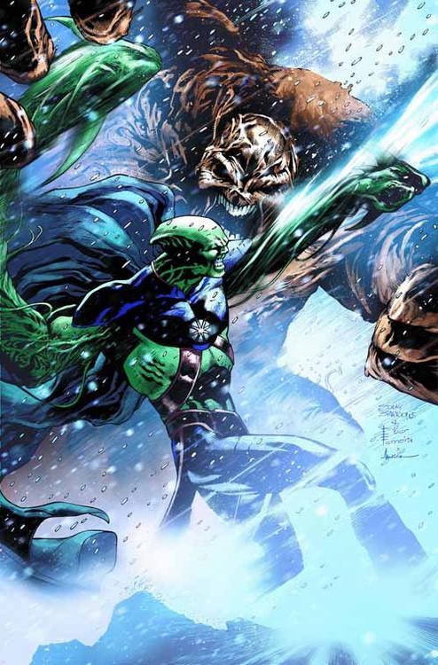 Justice League Of America #11 (evil) -- Batman Superman -- NOV130126