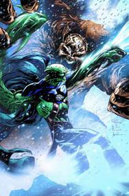 Justice League Of America #11 We Heroes Blank Variant -- NOV130128
