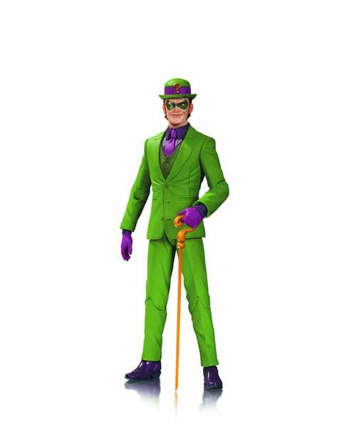 DC Comics Designer Series 1 Greg Capullo Riddler Act Figure -- NOV130287