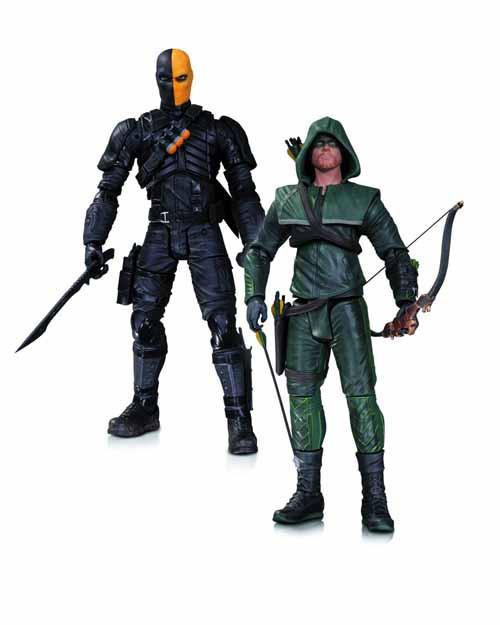 Arrow Oliver Queen Deathstroke Action Figure 2 Pack -- NOV130293