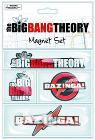 Big Bang Theory Laser-Cut Magnet 12-Piece Assortment -- JUL122028