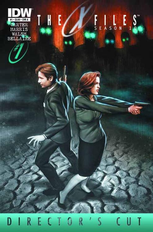 X-Files Season 10 #1 Directors Cut -- NOV130303