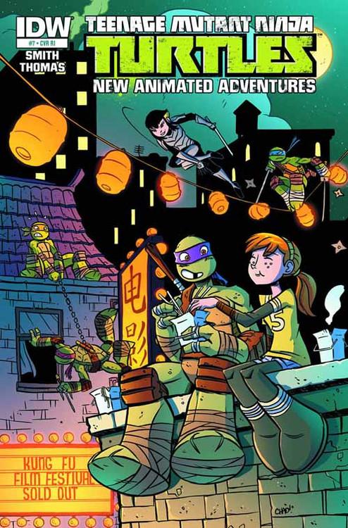 Teenage Mutant Ninja Turtles New Animated Adventures #7 -- NOV130311