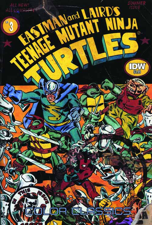 Teenage Mutant Ninja Turtles Color Classics Series 2 #3 -- NOV130314