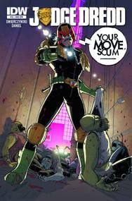 Judge Dredd #15 Subscription Variant -- NOV130321