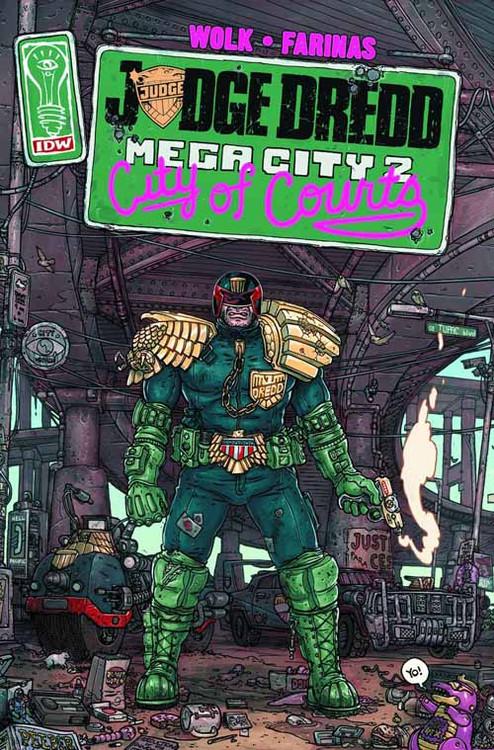 Judge Dredd Mega City Two #1 (of 5) -- NOV130326