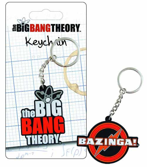 Big Bang Theory Laser-Cut Keychain 12-Piece Assortment -- JUL122031