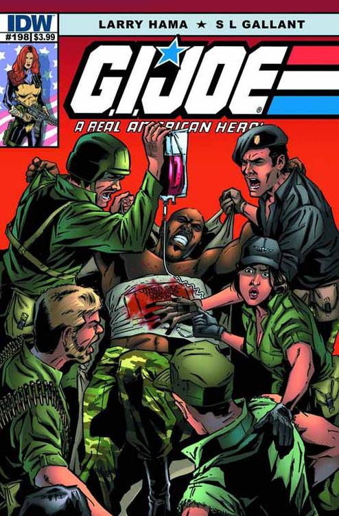 GI Joe A Real American Hero #198 -- NOV130356