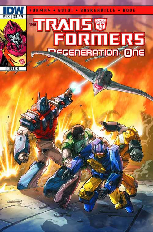 Transformers Regeneration One #98 -- NOV130371