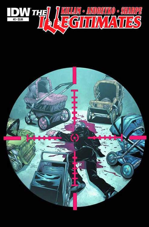 The Illegitimates #2 (of 6) Subscription Variant -- NOV130389
