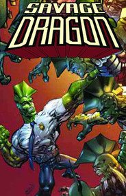 Savage Dragon Dragon War TPB -- NOV130448