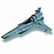 Battlestar Galactica Viper MkVII Assembled Model Kit -- MAR131978