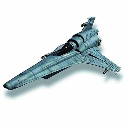 Battlestar Galactica Viper MkVII Assembled Model Kit -- MAR131978