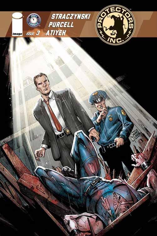 Protectors Inc #3 Cover B Andrasofzky (Mature Readers) -- NOV130515