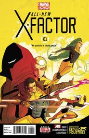 All New X-Factor #1 -- NOV130607