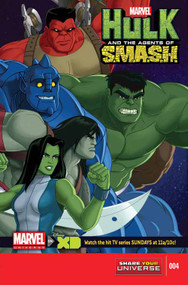 Marvel Universe Hulk Agents Of Smash #4 (of 4) -- Avengers -- NOV130680