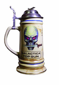 Battlestar Galactica BSG Top Gun Stein -- MAY121889