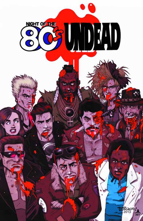 Night of the 80s Undead TPB (Mature Readers) -- NOV130742