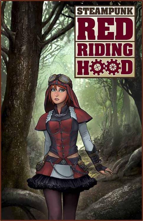 Steampunk Red Riding Hood One Shot -- NOV130761
