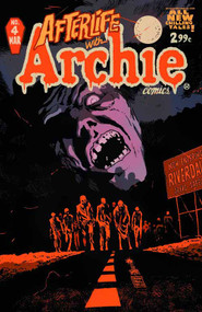 Afterlife With Archie #4 Regular Francavilla Cover -- NOV130771