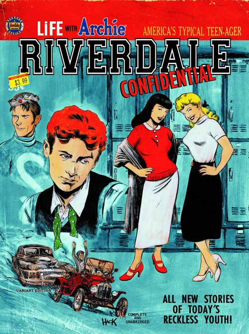 Life With Archie #34 Riverdale Confidential Variant Cover -- NOV130782