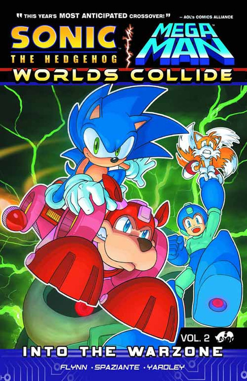Sonic Mega Man Worlds Collide TPB Vol 02 -- NOV130784