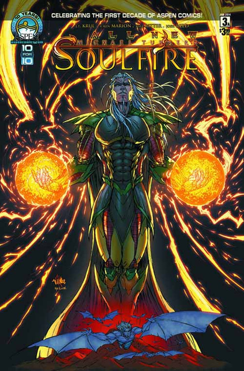 All New Soulfire #3 Direct Market Cover -- NOV130792