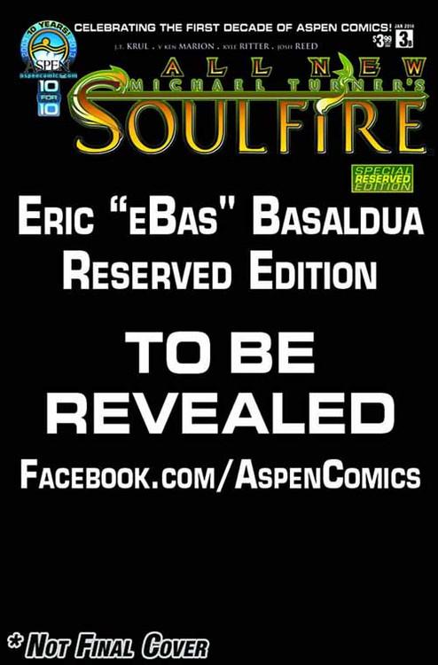 All New Soulfire #3 Aspen Reserved Cover -- NOV130793