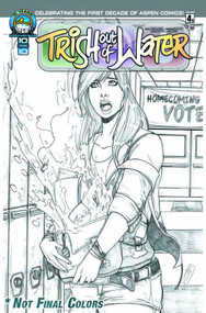 Trish Out Of Water #4 Direct Market Cover C -- NOV130798
