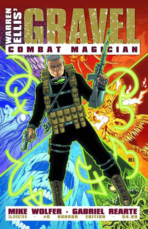 Gravel Combat Magician #0 Horror Cover (Mature Readers) -- NOV130816