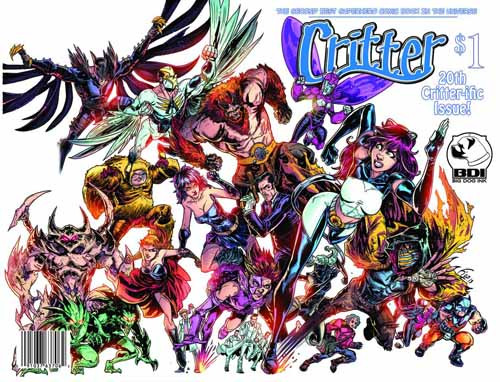 Critter (Ongoing) #20 -- NOV130851