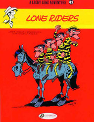 Lucky Luke TPB Vol 42 Lone Riders -- NOV130932