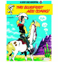 Lucky Luke TPB Vol 43 Bluefeet Are Coming -- NOV130933