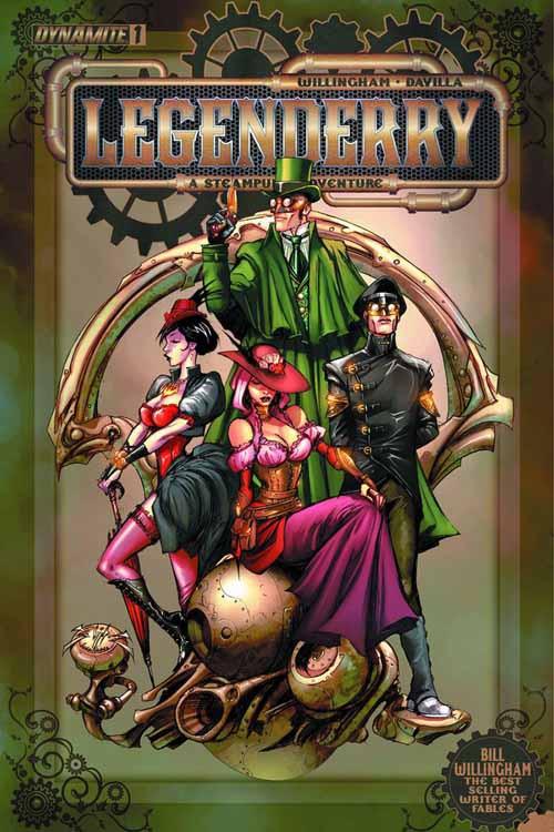 Legenderry A Steampunk Adv #1 (of 7) -- NOV130945
