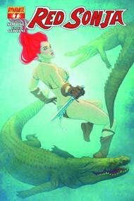 Red Sonja #7 Frison Cover -- NOV130952