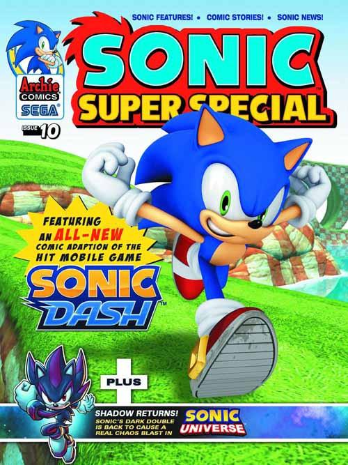 Sonic Super Special Magazine #10 -- NOV130787