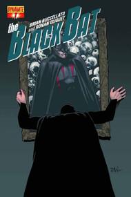 Black Bat #8 Tan Subscription Cover -- NOV130991