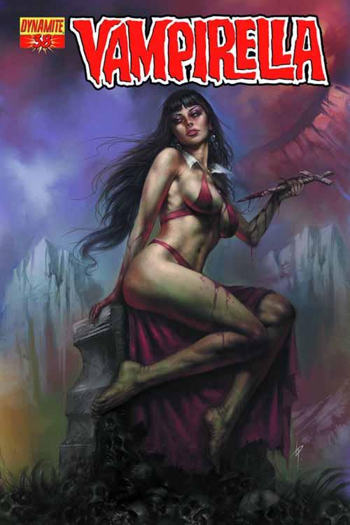 Vampirella #38 Parrillo Cover -- NOV131009