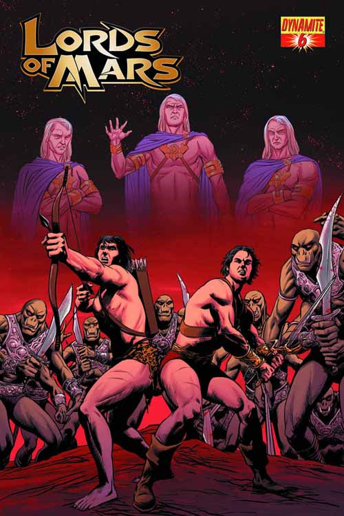 Lords Of Mars #6 (of 6) Malaga Subscription Cover (Mature) -- NOV131016