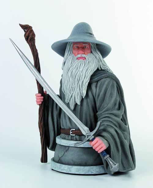 Hobbit Gandalf Mini-Bust -- Gentle Giant -- NOV131993