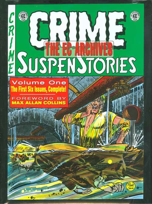 EC Archives Crime Suspenstories HC Vol 01 -- NOV131066