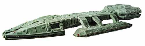 Classic Battlestar Galactica Galactica Model Kit -- NOV132005